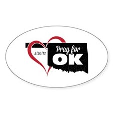 Pray for OK Decal