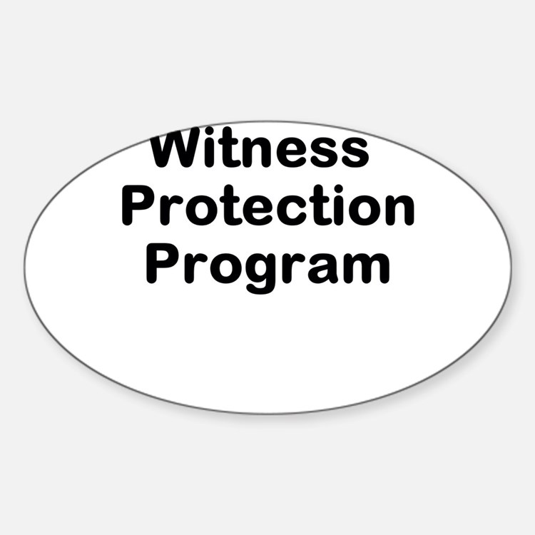 Witness Protection Program Decal