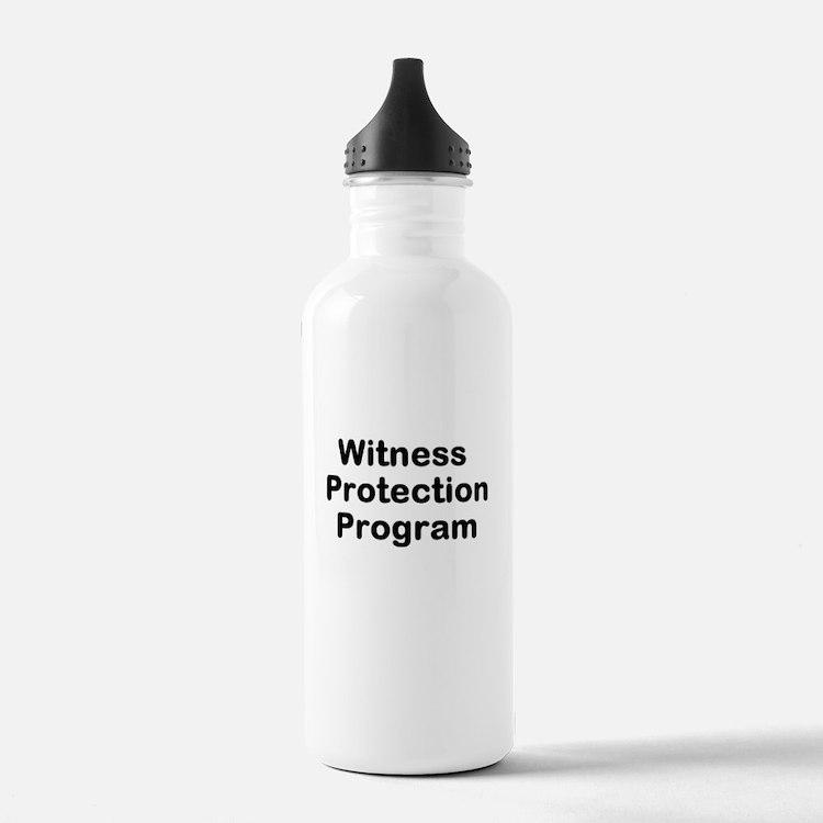 Witness Protection Program Water Bottle