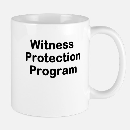 Witness Protection Program Mug