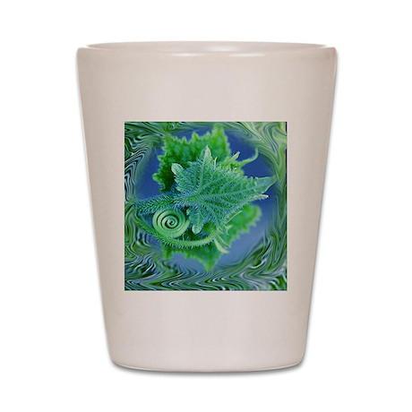 Leafy Shot Glass