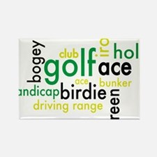 Golf Rectangle Magnet