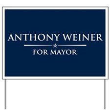 Vote Anthony Weiner Yard Sign