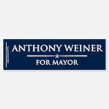 Vote Anthony Weiner Bumper Bumper Sticker