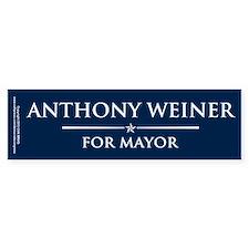 Vote Anthony Weiner Bumper Sticker