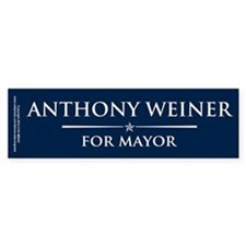 Vote Anthony Weiner Car Sticker