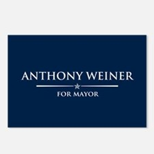 Vote Anthony Weiner Postcards (Package of 8)