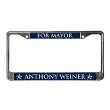 Vote Anthony Weiner License Plate Frame