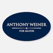 Vote Anthony Weiner Decal
