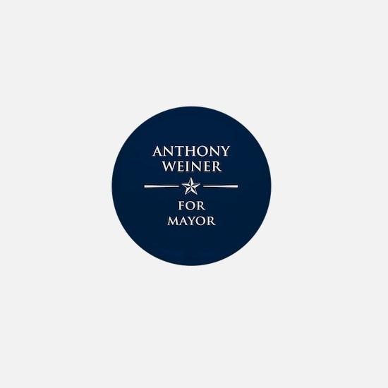 Vote Anthony Weiner Mini Button
