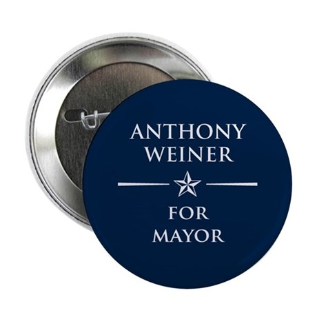 "Vote Anthony Weiner 2.25"" Button"