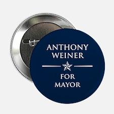 """Vote Anthony Weiner 2.25"""" Button"""