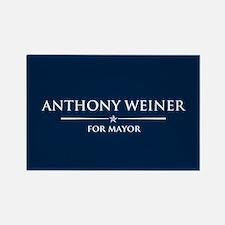 Vote Anthony Weiner Rectangle Magnet