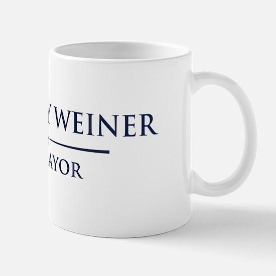 Vote Anthony Weiner Mug