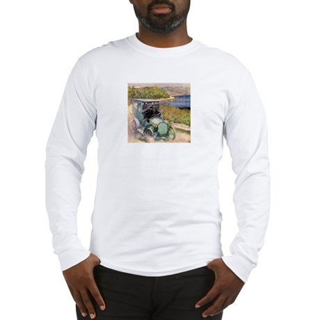 Antique Sunday Drive by the Sea Long Sleeve T-Shir