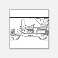 Classic Antique Touring Automobile Sticker