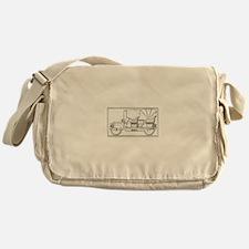 Classic Antique Touring Automobile Messenger Bag