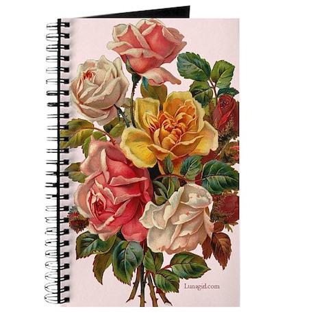 Victorian Roses Bouquet Vinta Journal
