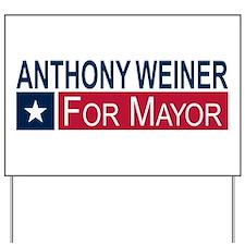 Elect Anthony Weiner Yard Sign