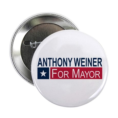 "Elect Anthony Weiner 2.25"" Button"