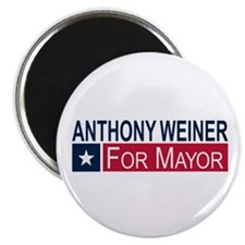"Elect Anthony Weiner 2.25"" Magnet (10 pack)"