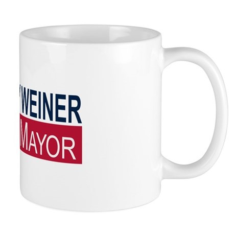 Elect Anthony Weiner Mug