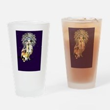 Chief Owl Drinking Glass