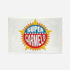 Super Carmelo Rectangle Magnet