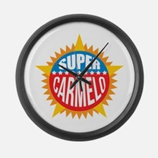 Super Carmelo Large Wall Clock