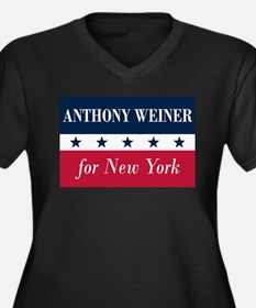 Anthony Weiner for NYC Women's Plus Size V-Neck Da