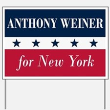 Anthony Weiner for NYC Yard Sign