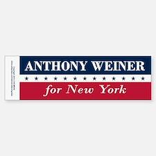 Anthony Weiner for NYC Bumper Bumper Sticker