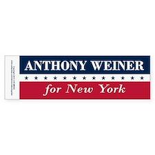Anthony Weiner for NYC Bumper Sticker