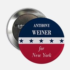 """Anthony Weiner for NYC 2.25"""" Button"""