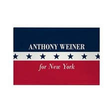 Anthony Weiner for NYC Rectangle Magnet