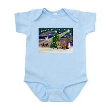 XmasMagic/Yorkies #6&7 Infant Bodysuit