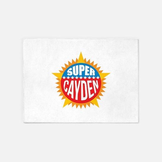 Super Cayden 5'x7'Area Rug