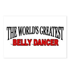 """""""The World's Greatest Belly Dancer"""" Postcards (Pac"""