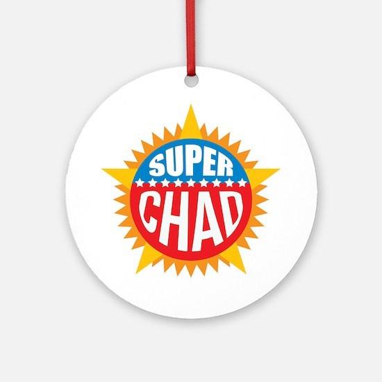 Super Chad Ornament (Round)