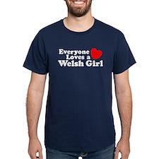 Everyone Loves a Welsh Girl T-Shirt