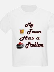 My Drinking Team... Kids T-Shirt