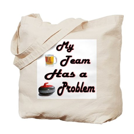 My Drinking Team... Tote Bag