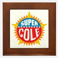 Super Cole Framed Tile