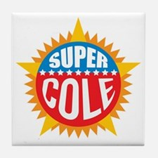 Super Cole Tile Coaster