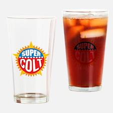 Super Colt Drinking Glass