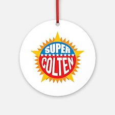 Super Colten Ornament (Round)