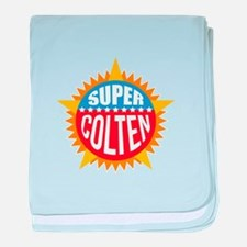 Super Colten baby blanket
