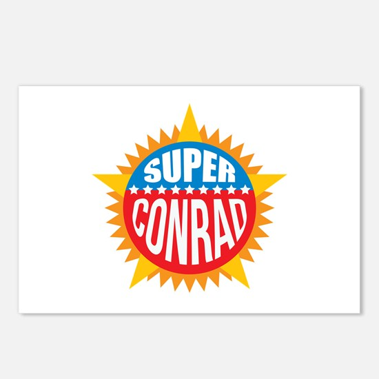 Super Conrad Postcards (Package of 8)