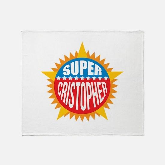 Super Cristopher Throw Blanket