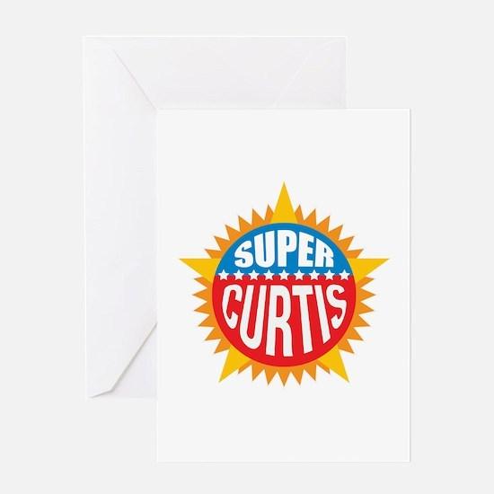 Super Curtis Greeting Card